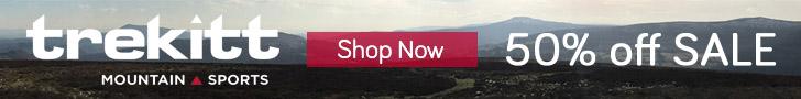 50% Sale now on at Trekitt