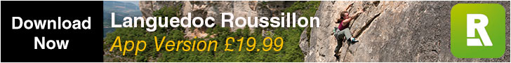 France Languedoc-Roussillon available on the Rockfax App