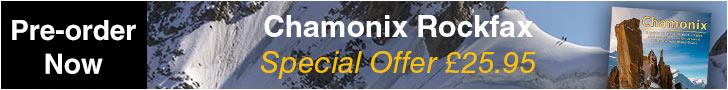Chamonix Rockfax Pre-order