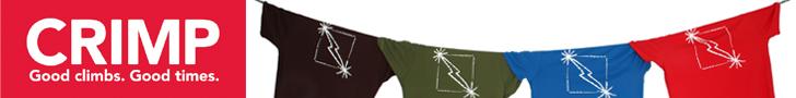 Crimp Leaderboard Banner 01 - Midnight Lightning on a rope