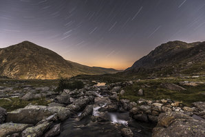 [Early evening in the Ogwen Valley  © James Rushforth]