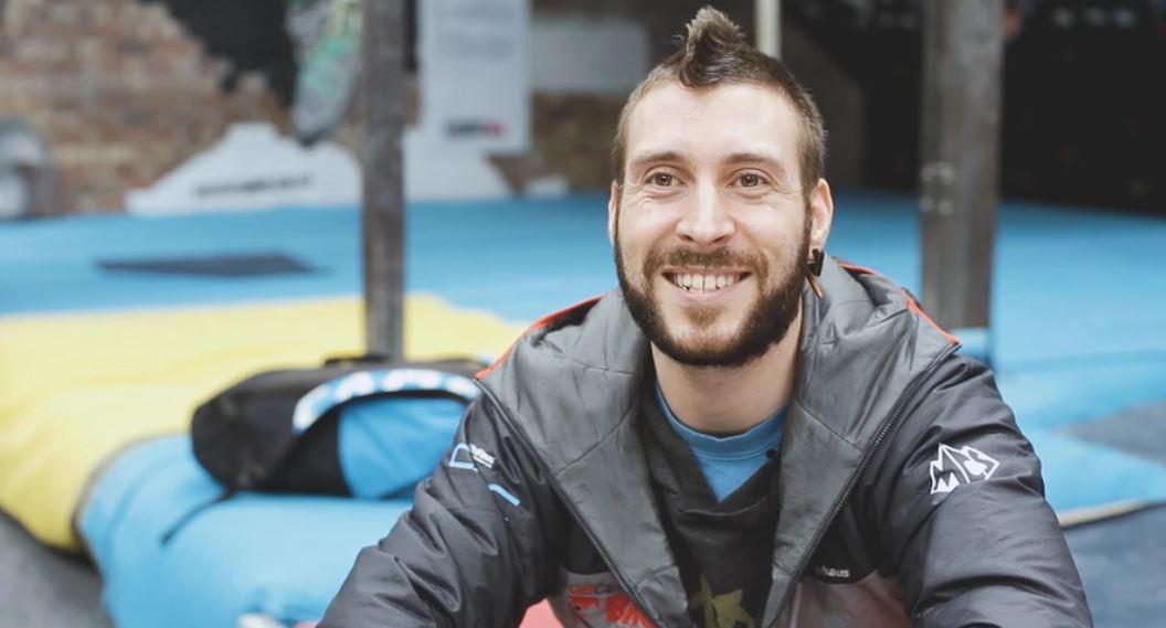 Dave Bowes - Team GB Paraclimber