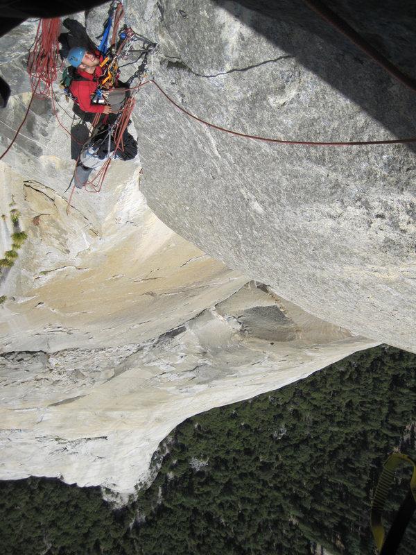 Alex Haslehurst on El Cap, 152 kb