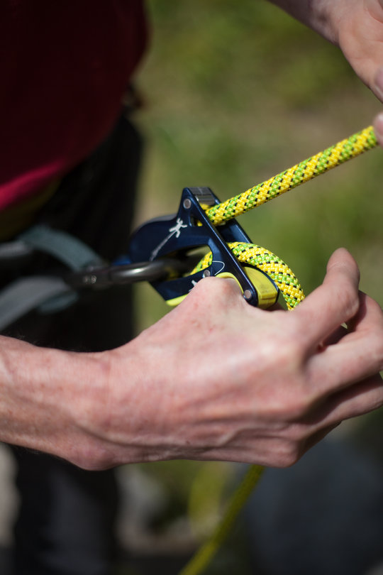Assisted Breaking Belay Device Review - Salewa Ergo 4, 66 kb