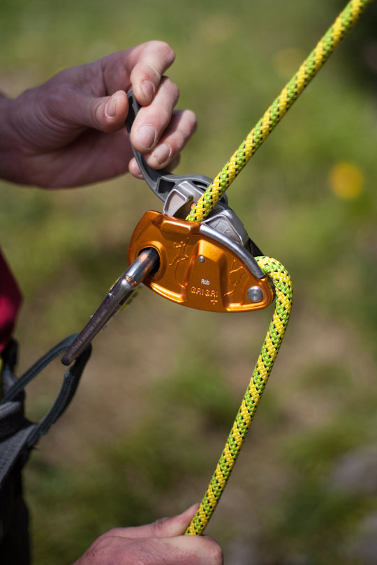 Assisted Breaking Belay Device Review - Petzl GrigriPlus 4, 79 kb