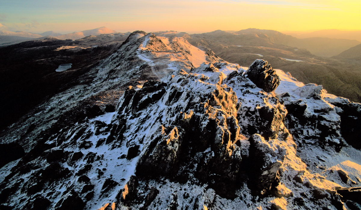 An early winter's morning on the summit of Cnicht, 214 kb