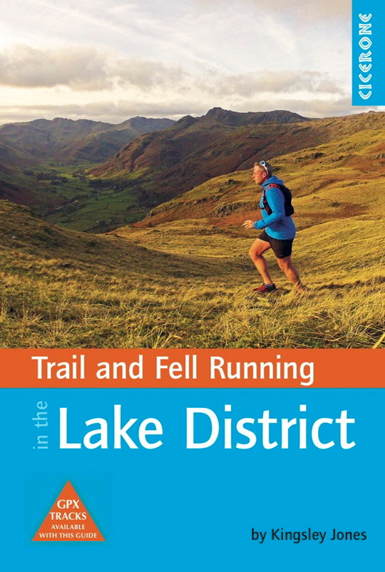 Trail & Fell Running in the Lake District cover shot, 97 kb