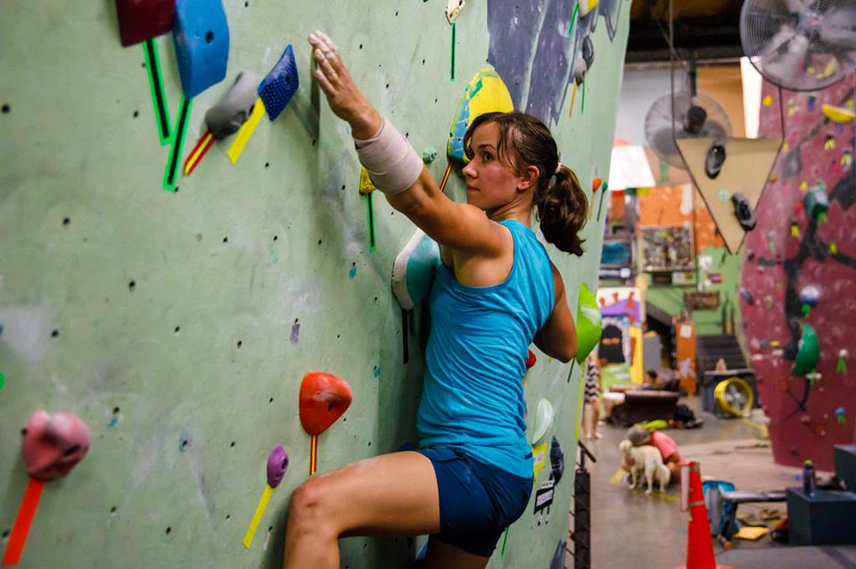 Bouldering: a modern therapy for depression, 79 kb
