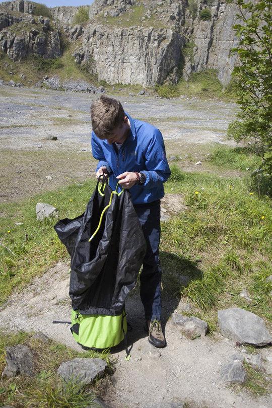 Edelrid Caddy Rope Bag - 2, 186 kb