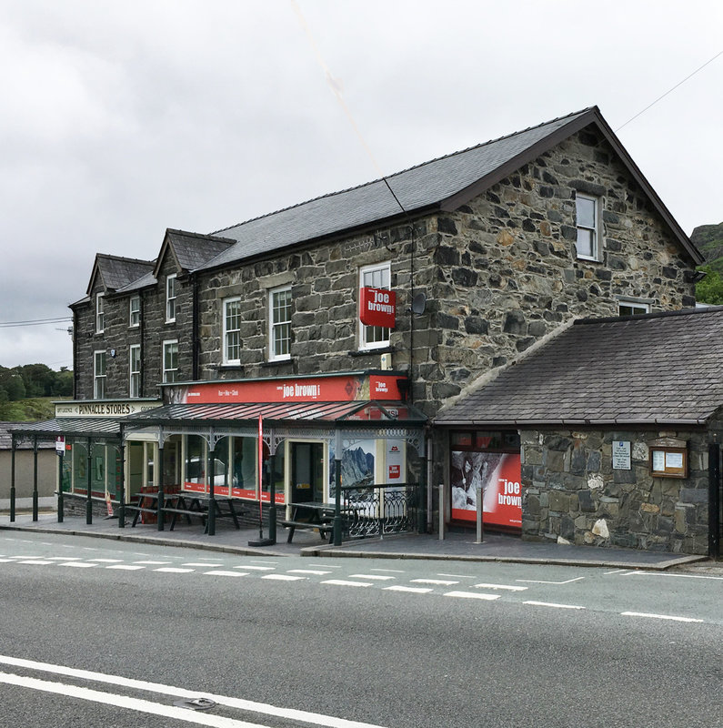 The new and improved Capel Curig shop, 178 kb