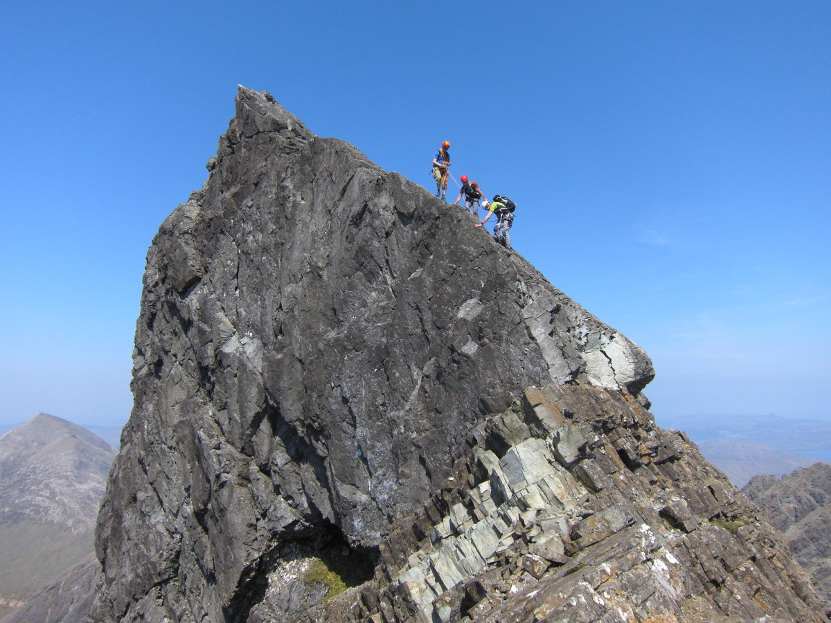 The Impostor, on the south ridge of Clach Glas, 224 kb