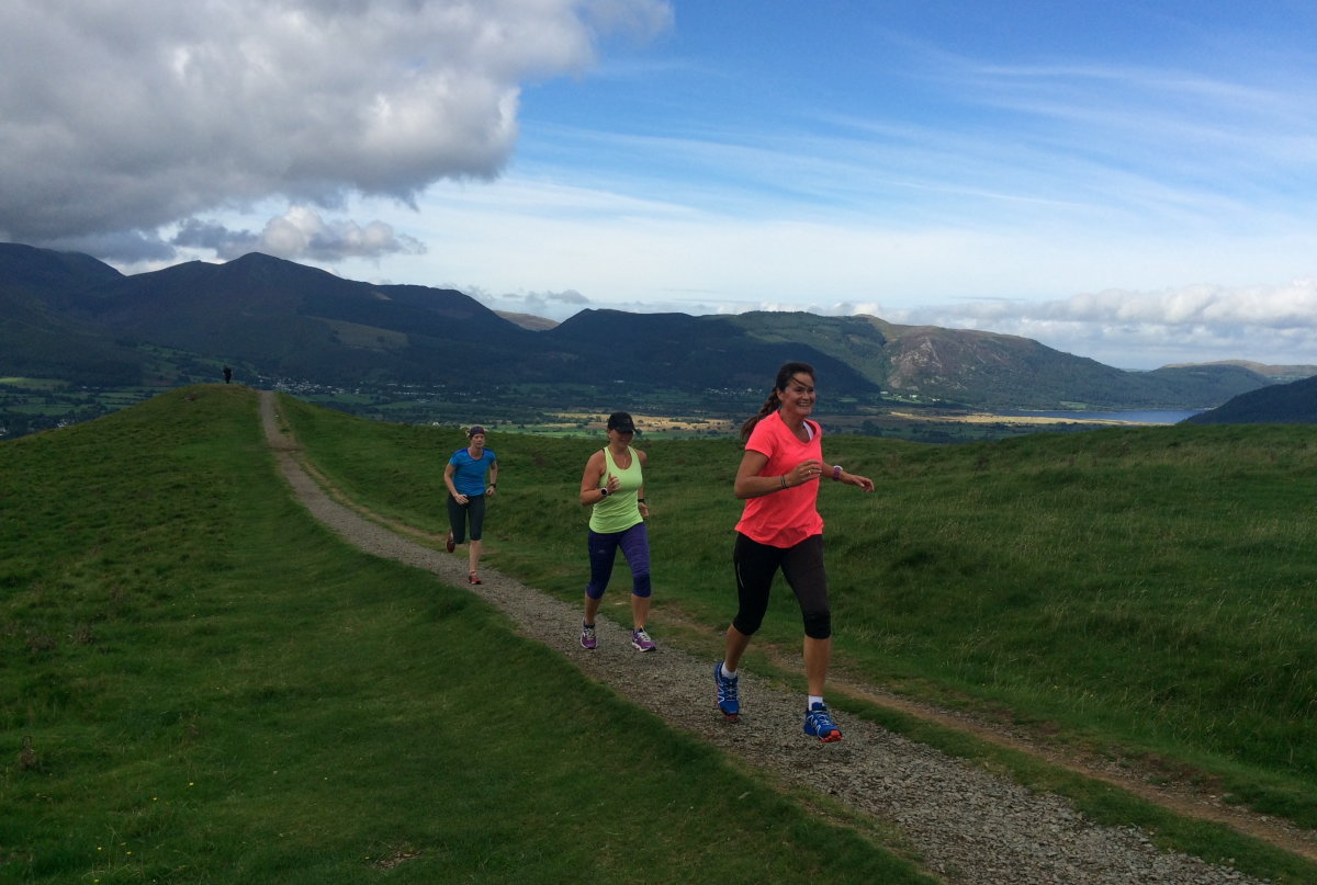 Jog the flats - don't go flat out or you'll soon hit a wall, 150 kb