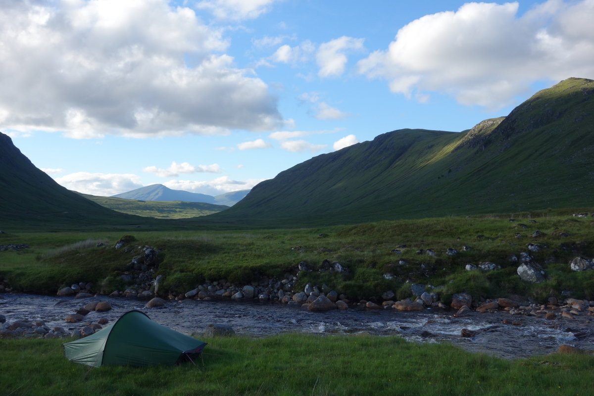 Wild camping at Corrour, 146 kb