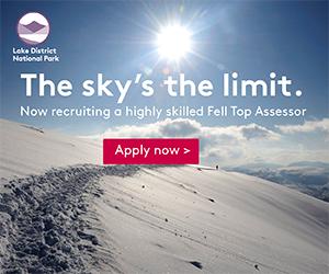 Lake District National Park job advert, 82 kb