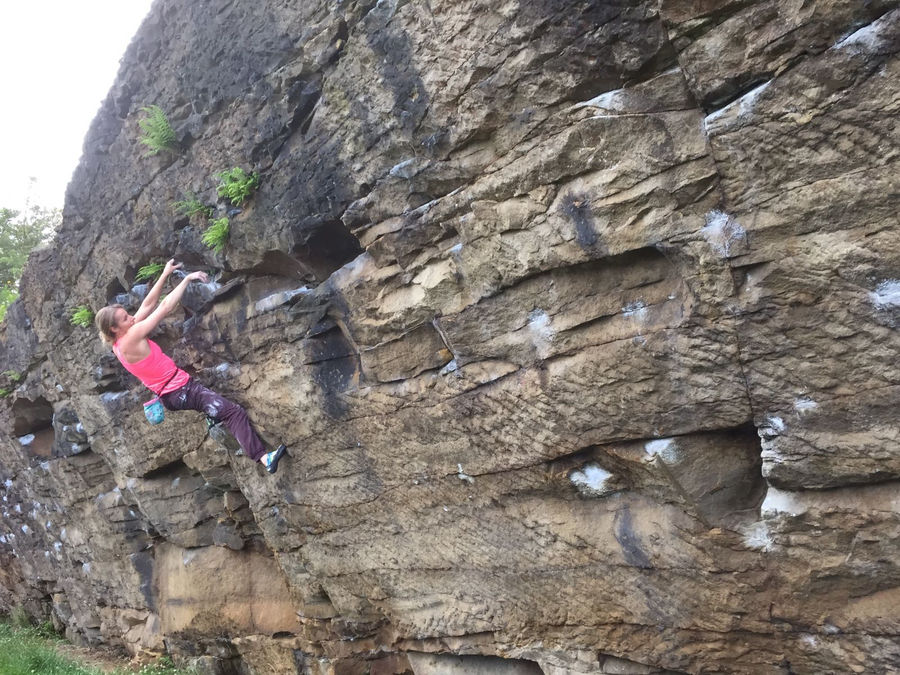 Inspired by Tanya Meredith, Gill focusses on the Traverse, 168 kb