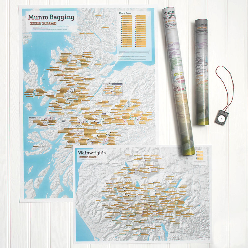 Munro and Wainwright maps, 206 kb