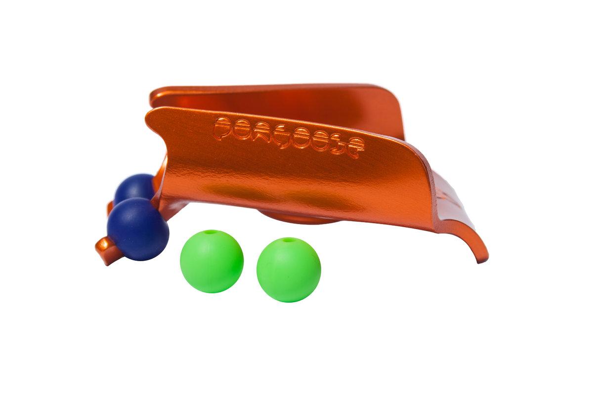 Orange clipstick head for Pongoose Climber 700