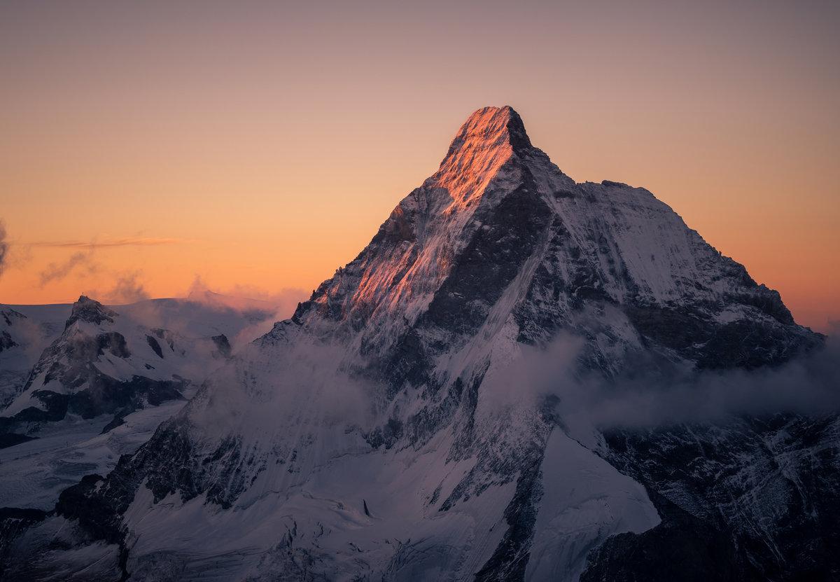 Matterhorn North Face 5th September 2017 (from the Dent Blanche), 152 kb