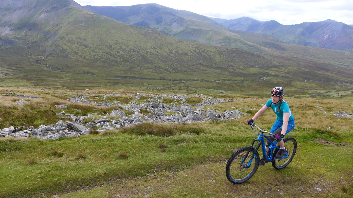 Mountain biking: another popular activity in Wales, 234 kb
