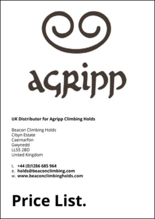 Agripp Price list, 42 kb