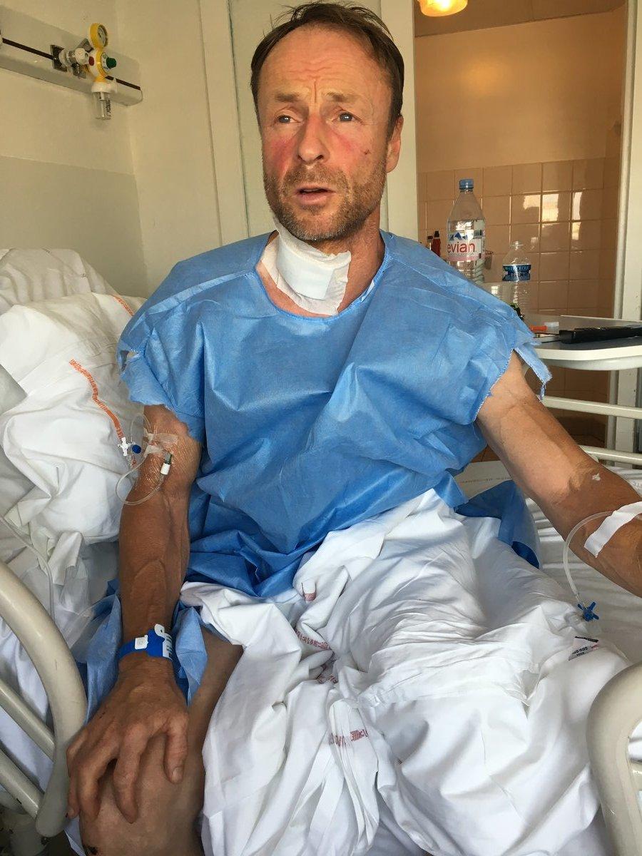 Jerry feeling more alert in hospital., 166 kb