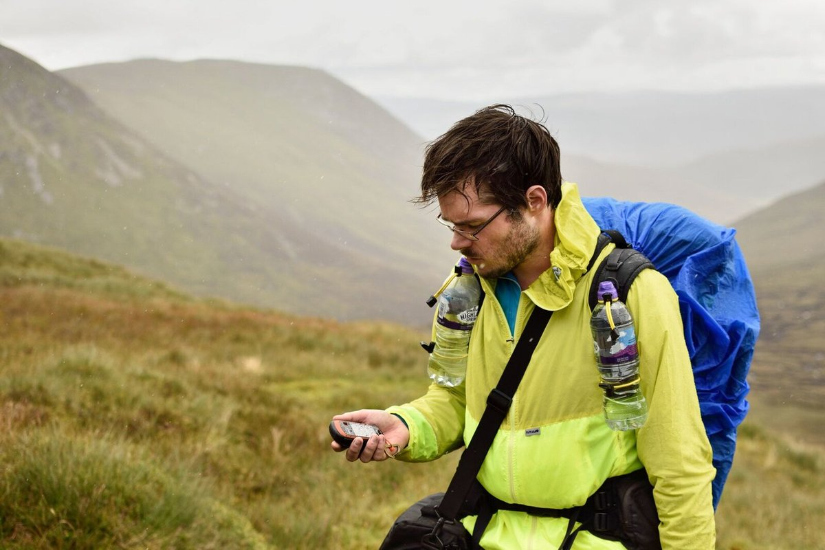 Using a GPS has advantages over a phone in cold wet conditions, 120 kb