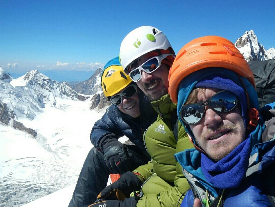 Uisdean Hawthorn, Ben Silvestre and Pete Graham on their first trip to the Indian Himalaya, 97 kb