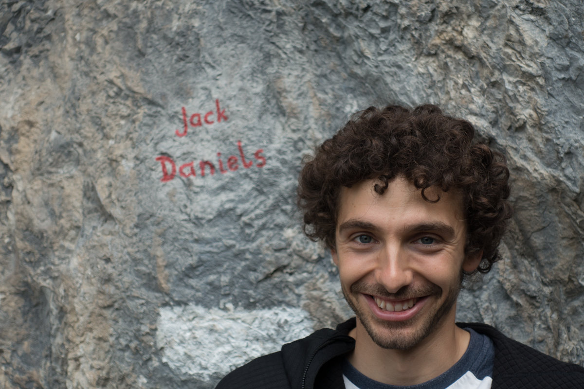 Black Diamond athlete Jacopo Larcher was on hand to answer questions about the products, 205 kb