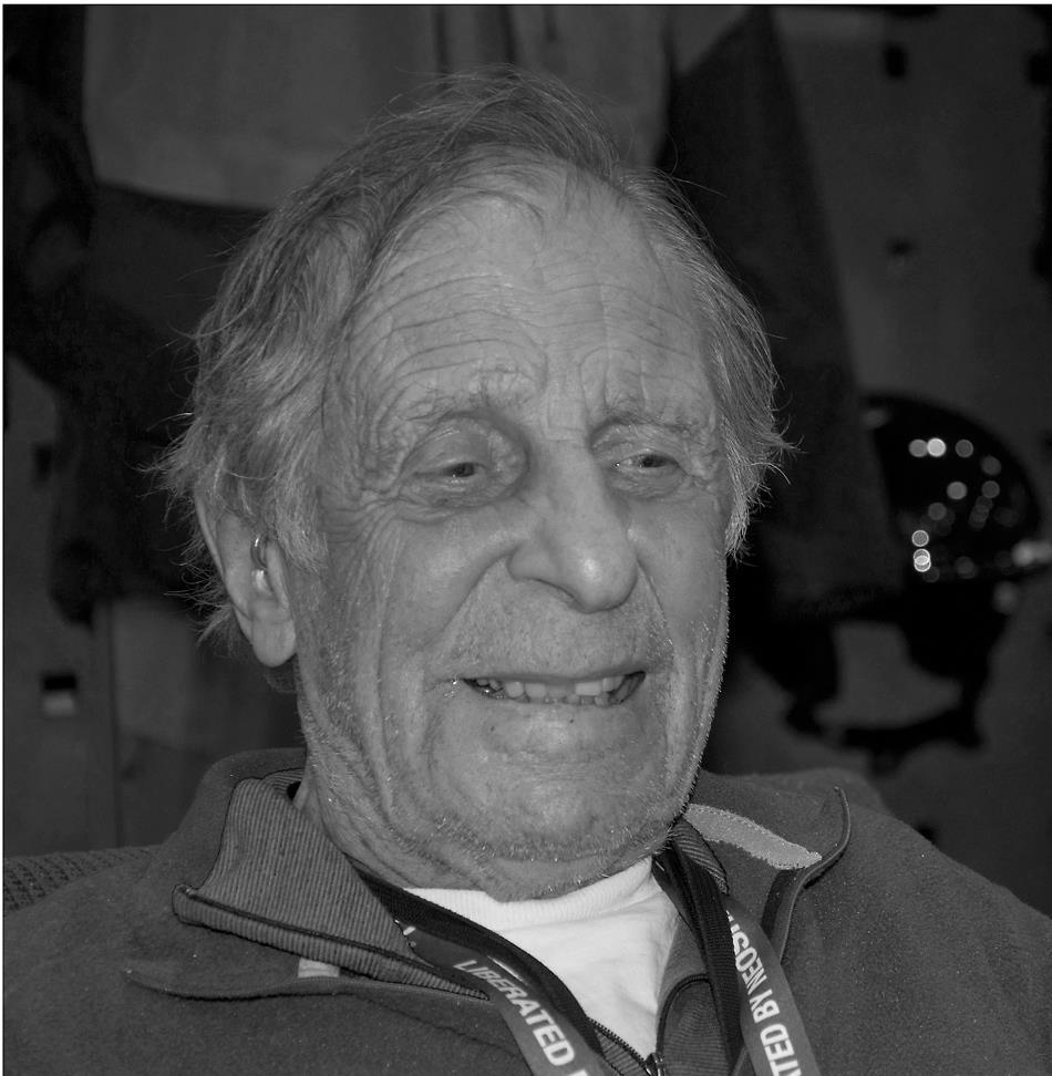 Legendary climber Fred Beckey, 92 kb