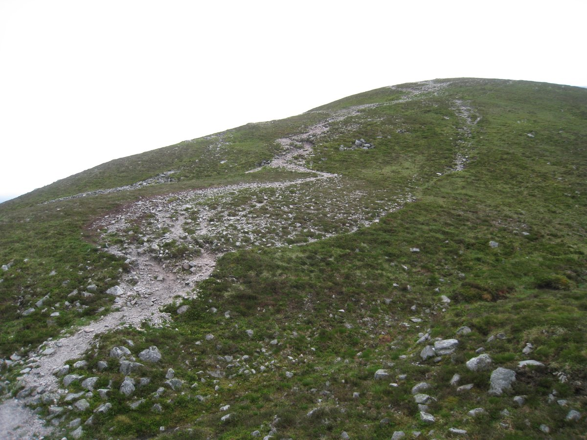 Huge erosion scar on Carn Liath, 228 kb