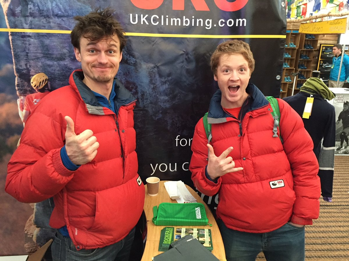 Smock the difference: UKC's Rob Greenwood and a very energetic Calum Muskett, 219 kb
