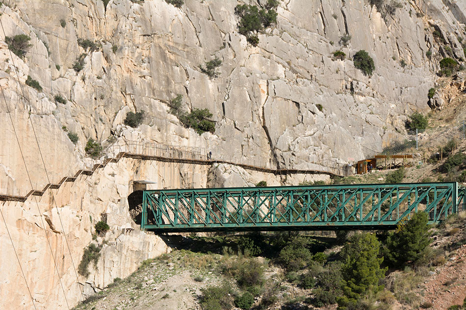 The Caminto del Rey over the tunnels, 238 kb