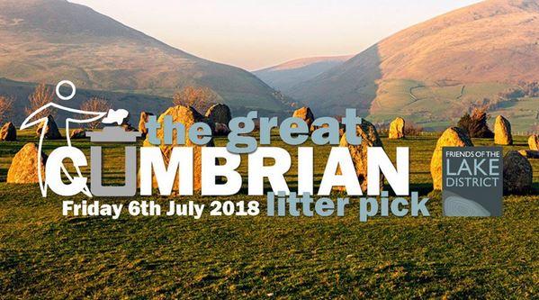 Cumbrian litter pick banner, 63 kb
