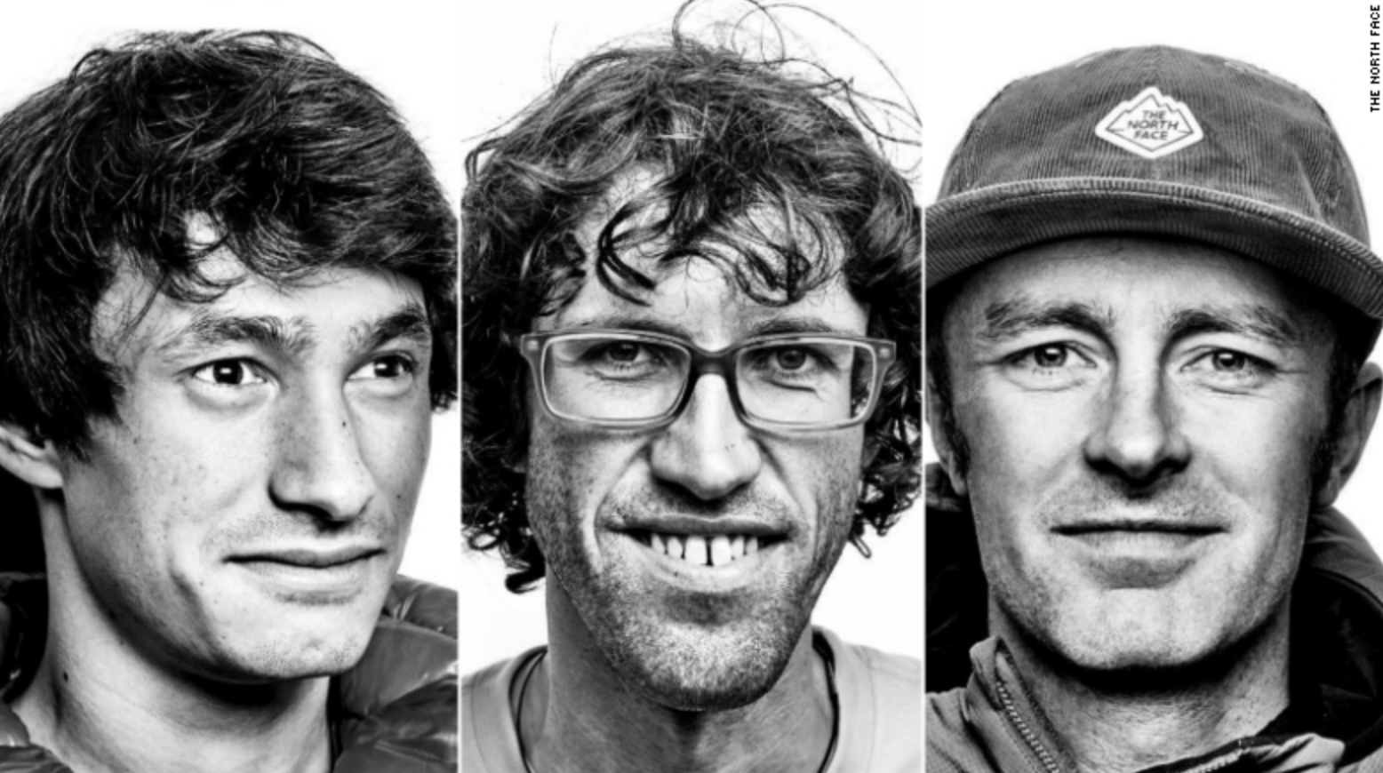 David Lama, Hansjörg Auer and Jess Roskelley.  © The North Face